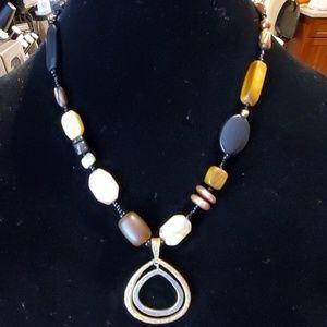 Silpada Multi Stone Necklace